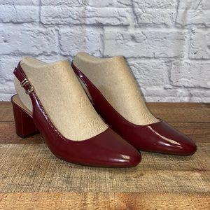 Aerosoles A2 Sling Back Pumps Shoes Heels LN 7.5